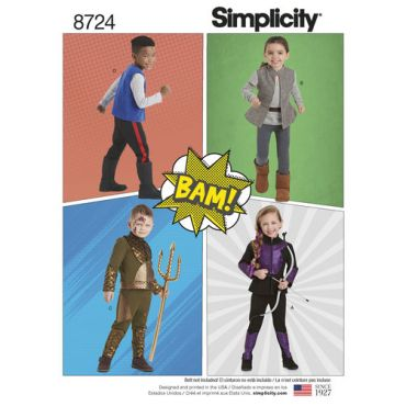 simplicity-child-action-costumes-pattern-8724-envelope-front
