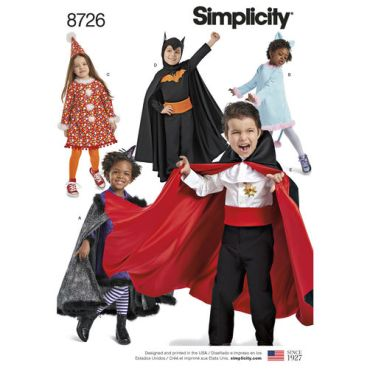 simplicity-child-cape-costumes-pattern-8726-envelope-front