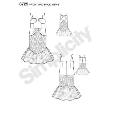 Simplicity-disney-ariel-costume-pattern-8725-front-back-views