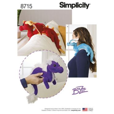 simplicity-dragon-stuffies-pattern-8715-envelope-front