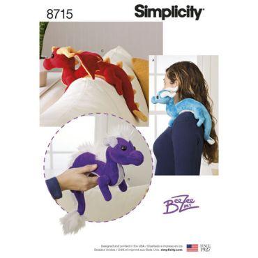 simplicity-dragon-stuffies-pattern-8715-envelope-front