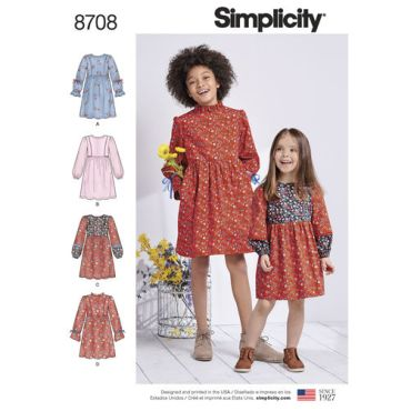 simplicity-girls-boho-dress-pattern-8708-envelope-front