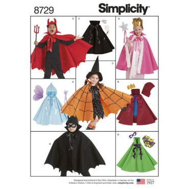 simplicity-halloween-cape-costumes-pattern-8729-envelope-front