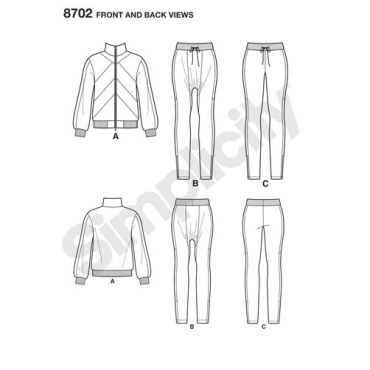 simplicity-mimi-g-track-suit-athleisure-pattern-8702-front-back-views