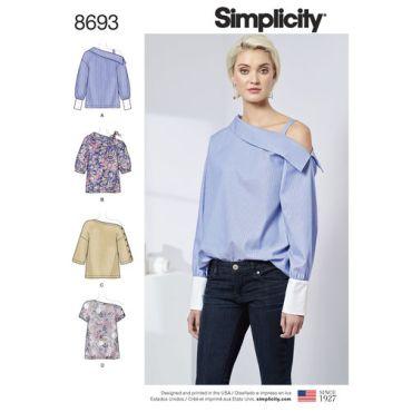 simplicity-one-shoulder-top-pattern-8693-envelope-front