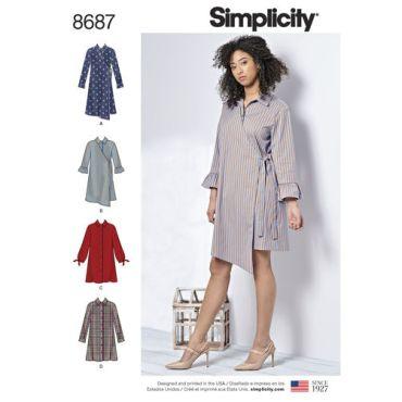 simplicity-shirt-dress-pattern-8687-envelope-front