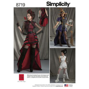 simplicity-steampunk-womens-costumes-pattern-8719-envelope-front