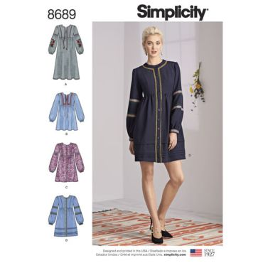 simplicity-trim-shirt-dress-pattern-8689-envelope-front