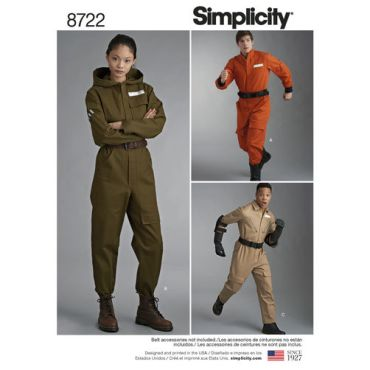 simplicity-unisex-flight-suit-pattern-8722-envelope-front
