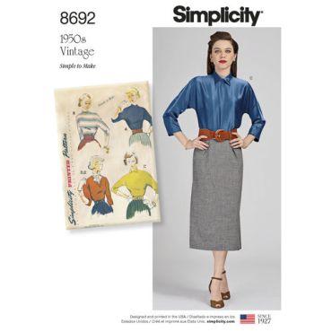 simplicity-vintage-dolman-sleeve-top-blouse-dickey-pattern-8692-envelope-front