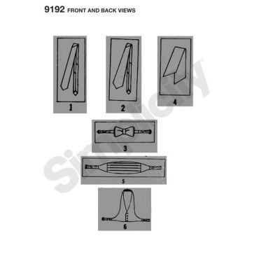 simplicity-vintage-mens-ties-pattern-9192-front-back-views