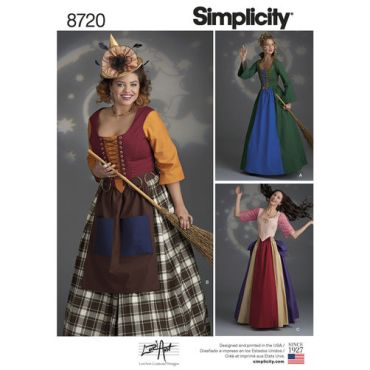 simplicity-witch-costumes-pattern-8720-envelope-front
