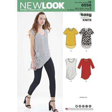 new-look-asymmetrical-shirt-top-pattern-6556-envelope-front