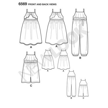 new-look-childs-sundress-pattern-6569-front-back-views