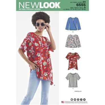 new-look-handkerchief-hem-tshirt-pattern-6555-envelope-front