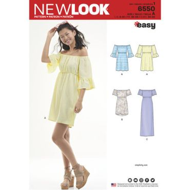 new-look-off-shoulder-dress-pattern-6550-envelope-front