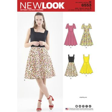 new-look-skater-dress-pattern-6553-envelope-front