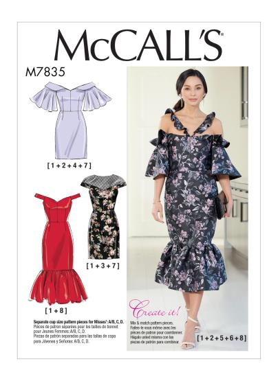 62cba51bef6 M7835 – McCall s Create It! This is another dress pattern I find myself  responding to positively