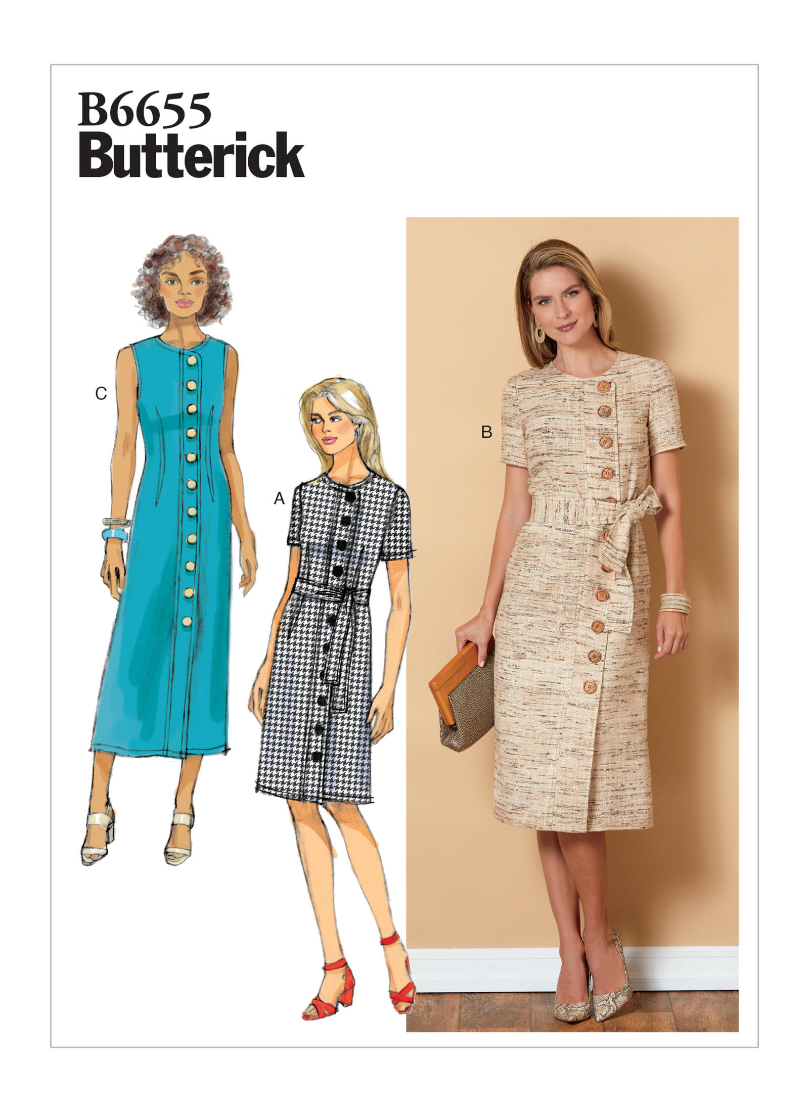 Butterick Patterns Spring 2019 – Doctor T Designs