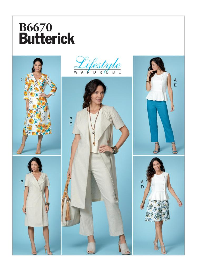Butterick Patterns Spring 2019