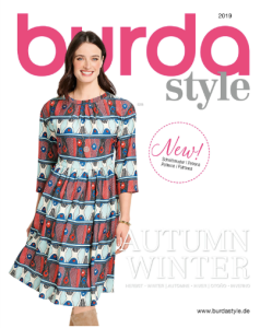 Burda Catalog Patterns Fall/Winter 2019