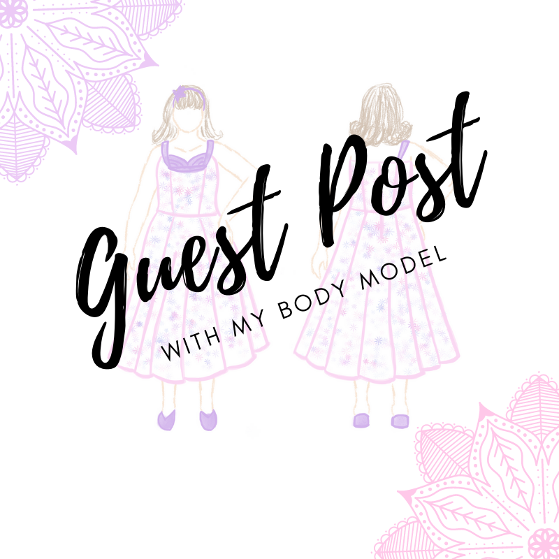 My Body Model Drawing Tutorial Guest Post Part 2