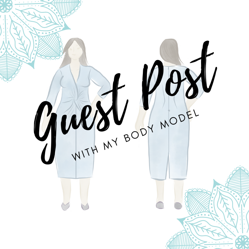 My Body Model Drawing Tutorial Guest Post