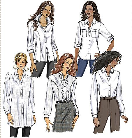 Sewing Goals: White Shirt Summer